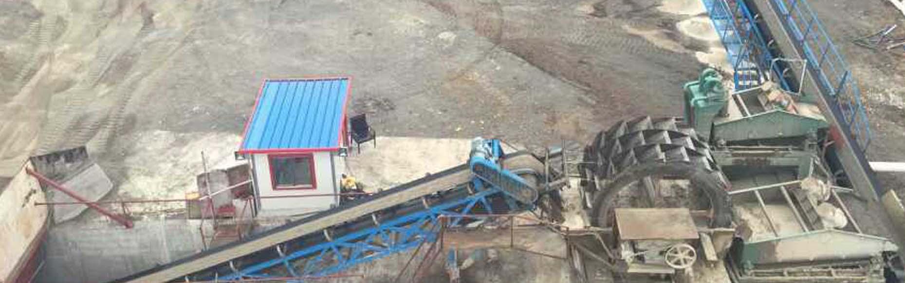 广东河源时产80方一小时洗沙生产线