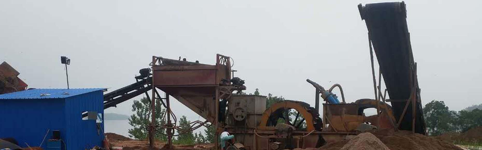 广东惠州河沙水洗一体机生产线